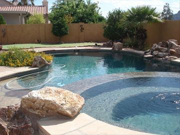 Marana house rental - oasis outside your patio door - with mountain views