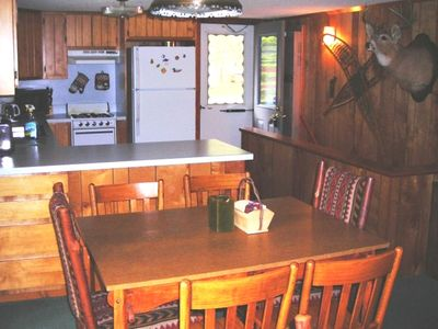 LAKEVIEW DINING, with total seating for 9, PLUS large kitchen
