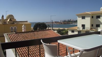 Beautiful 2 bedroom apartment with spectacular sea views in Ferragudo
