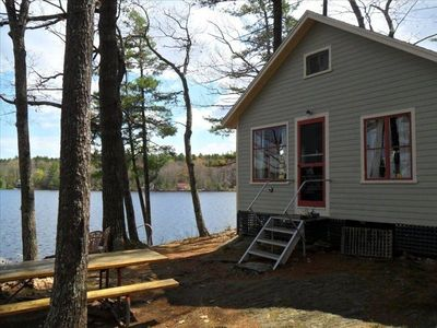 Camden cabin rental - 'Wicked Cute!' Maine Camp - The perfect place to relax and recharge.