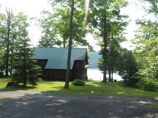 Lake Hortonia cabin photo - PRIVATE 1 Acre Property,grass to play, BEAUTIFUL LAKEFRONT