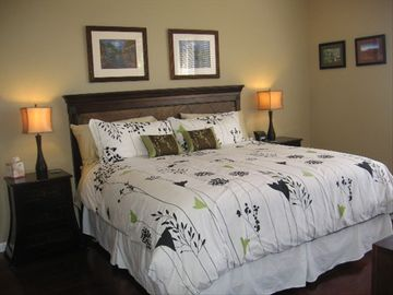Master Bedroom with King Bed and adjoining Master