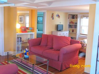 Provincetown townhome photo - and relax in the spacious living room.