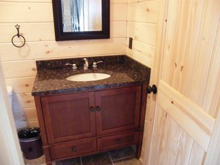 Luray cabin photo - both baths have granite vanities wow!!