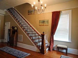 Savannah apartment photo - Antique heart pine staircase
