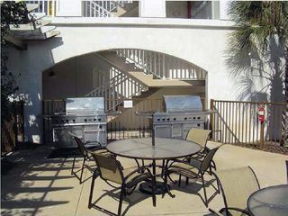 Santa Rosa Beach condo photo - Jenn Air Gas grills at the pool area. Perfect for a cookout!