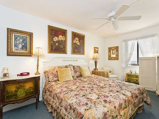 Flagler Beach house photo - The master suite has personality and comfort to spare!