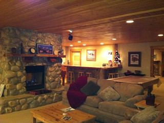 Snowbasin estate photo - Evening in the Game room