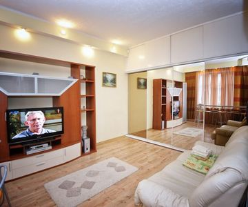 Fully Equipped Apartment in The Center of Omsk for 3 People