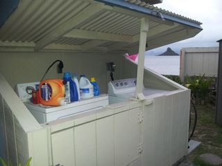 Kaaawa house photo - Washer and Dryer