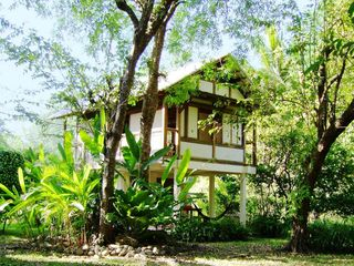 Montezuma bungalow photo - A view of the house coming from the beach