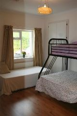 County Mayo cottage photo - Bedroom number 2 with built in wardrobe and devan bed.