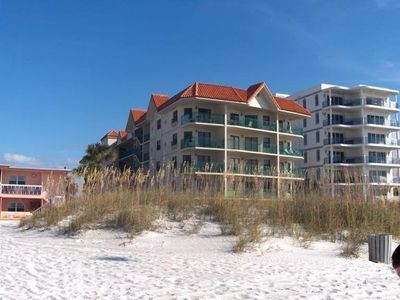 Building right on the beach!