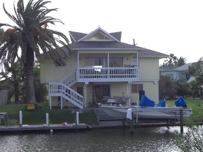 Rockport house rental - Bring your boat - we have a boat lift and dock!