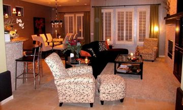 Other Scottsdale Properties house rental - Front entry into living room, dining room and kitchen to your left.