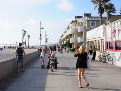 Hermosa Beach house rental - The Strand