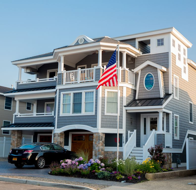 Ship Bottom Vacation Rental Vrbo 489751 6 Br Long Beach Island House In Nj Newly Built Home