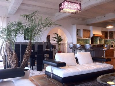 Chateauneuf de Grasse villa rental - Second living room