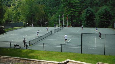 Tennis at the Topnotch