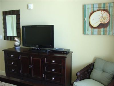 Master Bedroom w/Flat Screen Entertainment Center