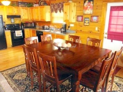 Full Kitchen, Counter height Dining Set for 8