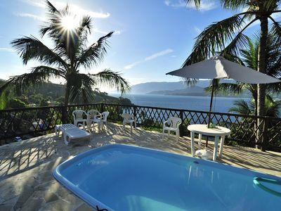 Villa with pool, terrace and panoramic views of the sea and kills atlantica
