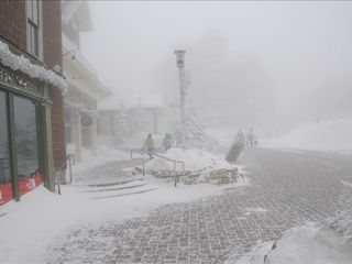 The Village on a Snowy Day - Snowshoe Mountain condo vacation rental photo
