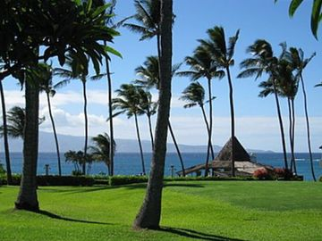 Napili condo rental - Take In the view from the lanai as you sip your morning coffee.