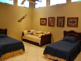 Playa Hermosa house photo - Three Single Bedrroom with Two Trundles sleeps 5