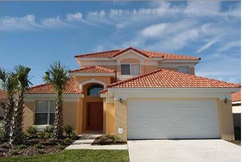 Beautiful 7 br pool home with a waterslide vrbo - 7 bedroom vacation rentals in orlando ...