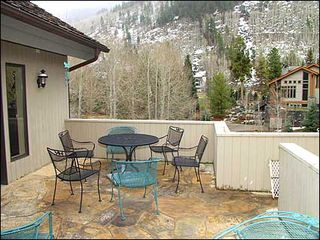 Vail house photo - Sunny Patio - Mountain Views