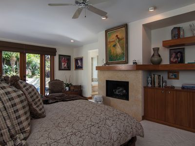 Master Bedroom with its own Fireplace