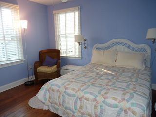 Rehoboth Beach house photo - First floor bedroom with queen size bed.