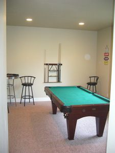 Pool Table Room downstairs.
