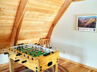 West Yellowstone house photo - Fooseball table in upper level family room