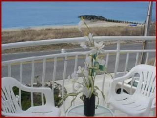 Cape May house photo - Enjoy a snack on the balcony