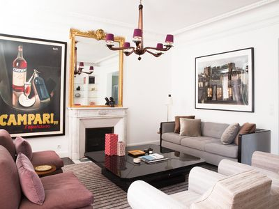 1200 sq. ft in St. Germain 1 block from Luxembourg garden with AC, calm