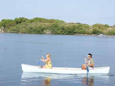 Key Largo house rental - Canoeing in our Bay