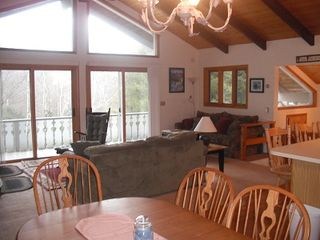 Bartlett chalet photo - Lots of windows--open concept of home.