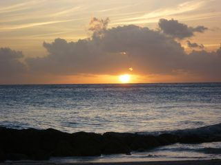 St. Lawrence Gap condo photo - Beautiful Dover Beach Sunset