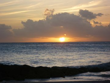Beautiful Dover Beach Sunset