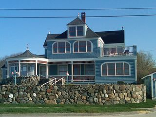 Kennebunk Beach house photo - Front of the House overlooking Mother's Beach just as the sun is coming up