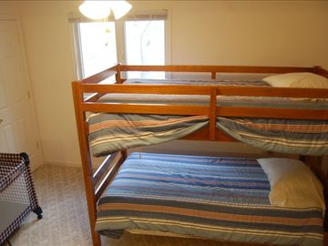 Twin bunk room