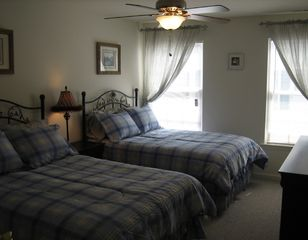 Wildwood condo photo - The 2nd bedroom with two full size beds