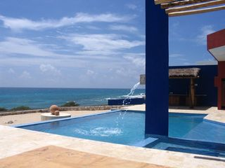 Isla Mujeres house photo - Oceanfront Pool with Fountain
