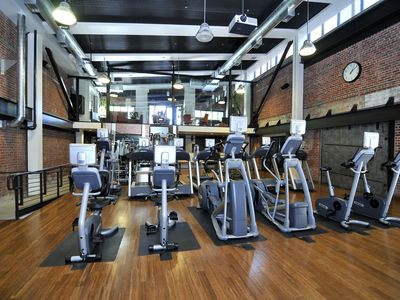 San Jose condo rental - Gym