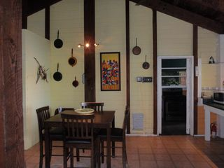 Culebra cottage photo - Dining Area to Kitchen