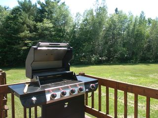 North Conway condo photo - New gas grill 2012 season