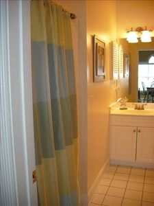 Forest Dunes villa rental - 2nd bathroom with access from 2nd bedroom and living room