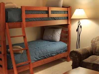 Bunk Room with Sleeper Sofa